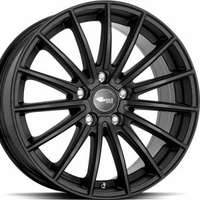 Brock B36 Satin Black Matt 7.5x17 5/100 ET38 N63.4