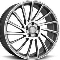 Brock B39 Ferric Grey Polish 7.5x18 5/105 ET38 N56.6