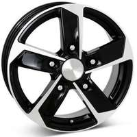 Image Strong Gloss Black Polished 6.5x16 5/130 ET62 N89.1