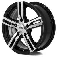 Inter action Kargin Gloss Black Polished 6.5x16 5/160 ET50 N72.6