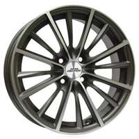 Inter action Velocity Anthracite Polished 6.5x15 4/108 ET25 N65.1