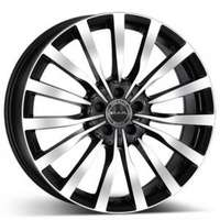 MAK Krone Black Polished 8.5x19 5/130 ET52 N84.1