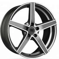 Racer Artic Evo Gunmetal Machined Face 6.5x16 4/100 ET38 N67.1