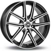 Racer Hornet Satin Black Machined Face 6.5x15 5/110 ET42 N67.1