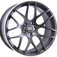 Soleil LXM-1 Matt Black Polished 8.5x20 5/114.3 ET35 N73.1
