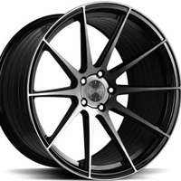 Vertini RF1.3 Black 8.5x19 5/112 ET45 N66.6