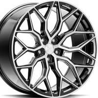 Vossen HF2 Brush Gloss Black 10.5x20 5/112 ET36 N66.6